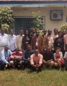 REM workshop Brazzaville